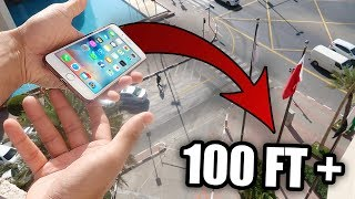 Video THROWING MY SISTERS IPHONE FROM 100+ ft BALCONY!! MP3, 3GP, MP4, WEBM, AVI, FLV Januari 2018