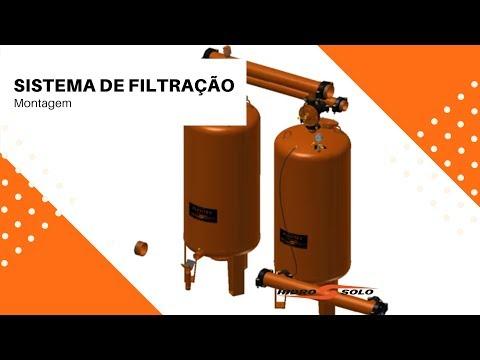 Hidro Solo - Montagem - Sistema de Filtração