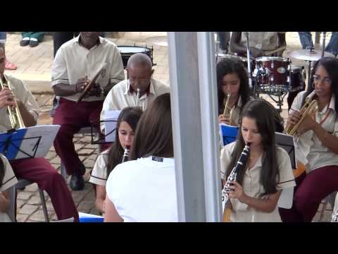Sociedade Musical Santo Antônio (Alvinópolis) - Santa Cruz do Escalvado - 2013.