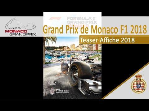 TEASER AFFICHE MONACO GRAND PRIX 2018