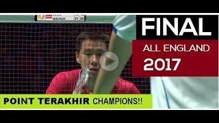 Video MENEGANGKAN!!! FINAL ALL ENGLAND Detik Detik Kemenangan Kevin Sanjaya  Marcus Fernaldi INA MP3, 3GP, MP4, WEBM, AVI, FLV Oktober 2017