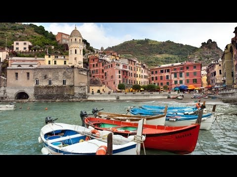 italy - In these five idyllic port towns, we sample village life: fishing for anchovies at midnight, savoring the best pesto, picking grapes, and cheering cliff dive...