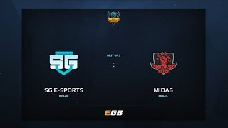 SG eSports vs Midas Club, Game 2, Dota Summit 7, AM Qualifier