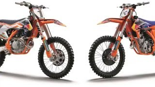 8. KTM SXF have added 'Factory Edition' versions to their four stroke 2016 SX motocross bikes