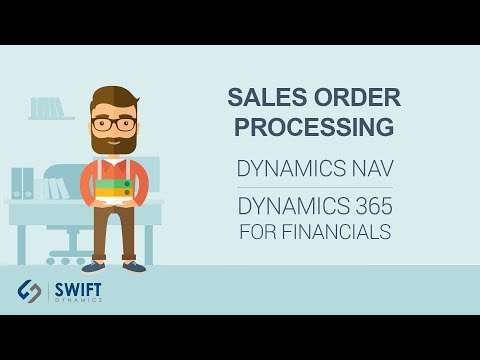 Sales Order Processing in Dynamics NAV