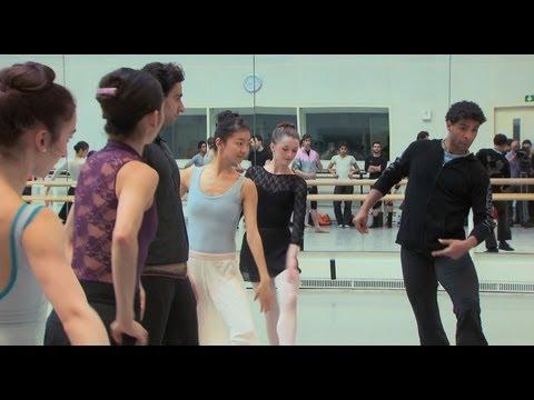 Don Quixote: Carlos Acosta in rehearsals (The Royal Ballet)