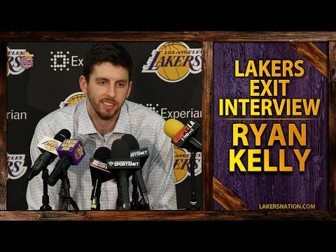 Video: Lakers Exit Interviews 2014: Ryan Kelly Believes Lakers Want Him Back