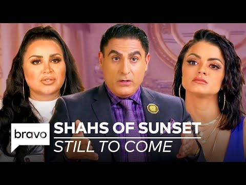 Still to Come on Shahs of Sunset Season 8!