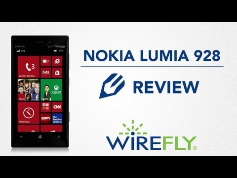 Nokia Lumia 928 for Verizon Wireless Review by Wirefly