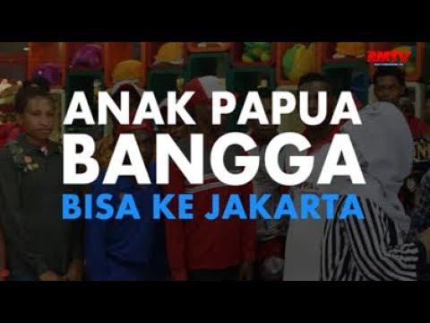 Anak Papua Bangga Bisa Ke Jakarta
