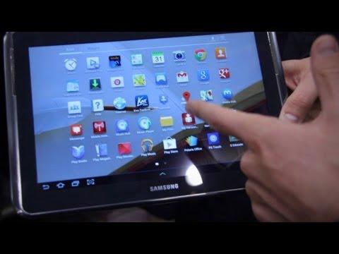Samsung Galaxy Note 10.1 Verizon LTE Hands On - CES 2013