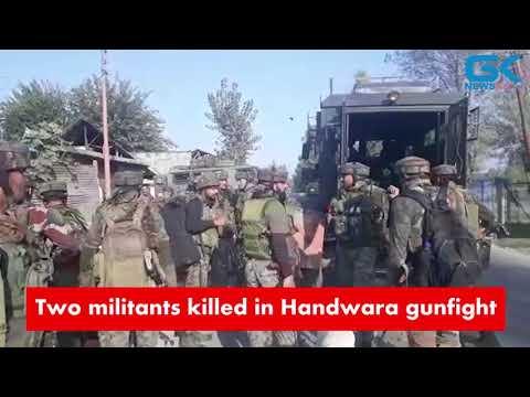 Two militants killed in Handwara gunfight