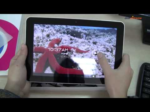 ICOO icou10 10.'' Capacitive Screen Android 4.0 Dual Core Tablet w/ Wi-Fi / 3G -DX