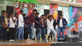 Video JIGELU RANI SONG DANCE PERFORMANCE AT CVR COLLEGE ANNUAL DAY BY SANTHOSH DANCER MP3, 3GP, MP4, WEBM, AVI, FLV September 2018