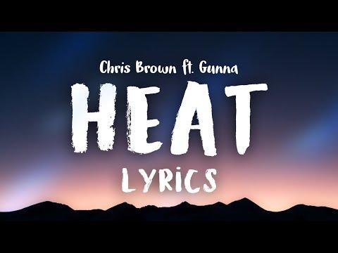 Chris Brown - Heat ft. Gunna (Clean Lyrics)