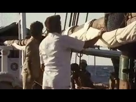 Raising the sail  – Michael Palin travel – Around the World in 80 Days – BBC