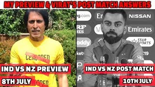 My Preview & Virat's Post Match Answers | IND vs NZ