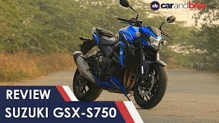 8. Suzuki GSX-S750 Review | NDTV carandbike