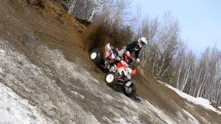 10. ATV Videoclip Can-am Ds450 xmx / Polaris Outlaw mxr 450 / sail / Enduro , trail and sand pit