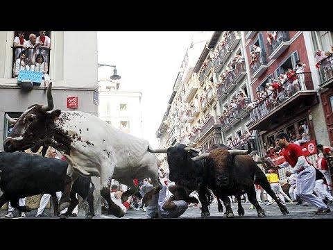 Ισπανία: Τρεις τραυματίες στις ταυρομαχίες στην Παμπλόνα