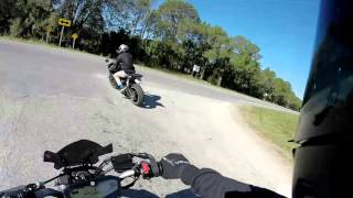 9. FZ-07 top speed