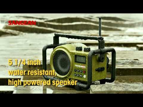Sangean Utility / Worksite Radios [LUNCHBOX?LB-100),TOUGHBOX?TB-100)]