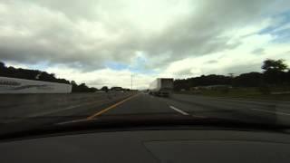 Charlotte, NC to Atlanta, GA Timelapse