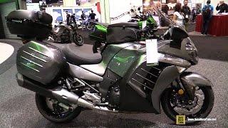 9. 2016 Kawasaki Concours 14 ABS - Walkaround - 2015 AIMExpo Orlando