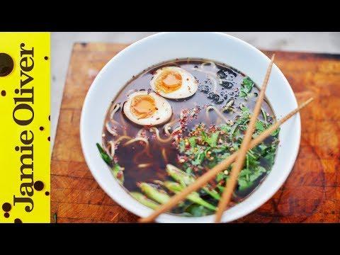 Chicken Ramen Noodle Soup | Food Busker