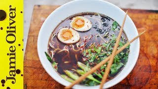 Chicken Ramen Noodle Soup | Food Busker