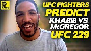Video Pros Predict Conor McGregor vs  Khabib Nurmagomedov | UFC 229 MP3, 3GP, MP4, WEBM, AVI, FLV Mei 2019