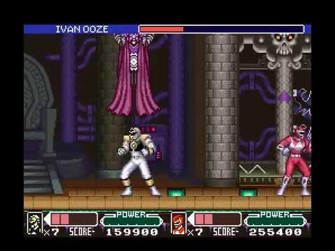 mighty morphin power rangers the movie super nintendo cheats