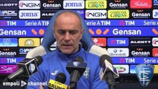 Preview video Mister Martusciello in conferenza stampa alla vigilia di Sampdoria - Empoli