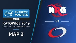 CS:GO - NRG vs. compLexity  [Cache] Map 2 Swiss Ro3  -  Legends Stage -  IEM Katowice 2019