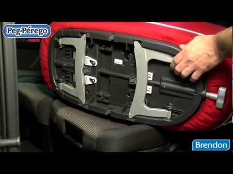 Peg Perego Navetta XL Car Ready mózeskosár + Peg Perego Kit auto Navetta new  övcsat