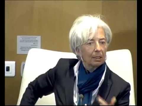 Rencontre des étudiants de lIAM avec Christine Lagarde, la Directrice générale du FMI