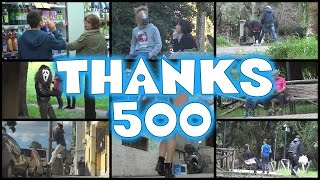 Thanks so much guys for 500 subscribers, it really means a lot to us!Like The Video? Subscribe For More: http://www.youtube.com/subscription_center?add_user=theprankersprankGoogle+ : https://plus.google.com/u/1/b/102011105391383810890/102011105391383810890?pageId=102011105391383810890Instagram : http://instagram.com/theprankers_youtube