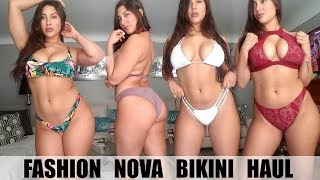 Video HUGE BIKINI TRY ON HAUL! Ft. FASHION NOVA CURVE MP3, 3GP, MP4, WEBM, AVI, FLV Juli 2018