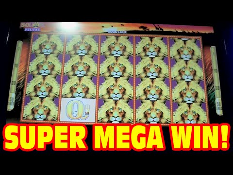 50 lions slot machine mega jackpots winners