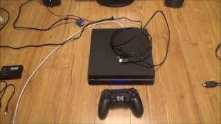 Download Lagu How to Connect the PS4 Slim to a VGA Computer Monitor or VGA TV Mp3
