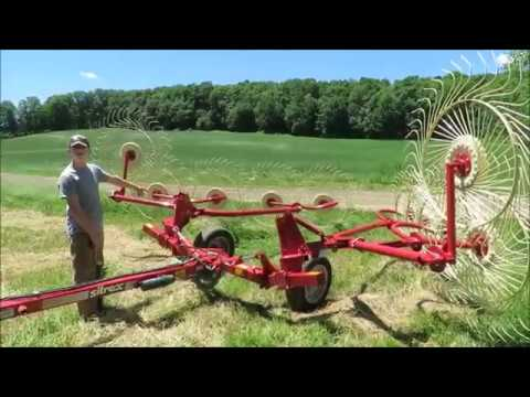 Raking Hay With The Sitrex Rake 2018