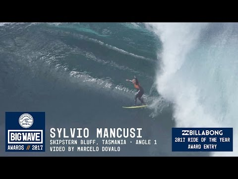 Sylvio Mancusi at  Shipstern Bluff 1 - 2017 Billabong Ride of the Year Entry - WSL Big Wave Awards