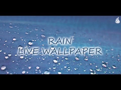 Video of Galaxy S3 Rain Live Wallpaper