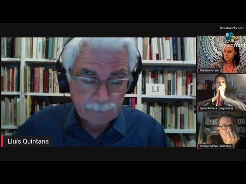 Presentación de 'El instante recuperado', de Lluís Quintana Trias, en Youtube