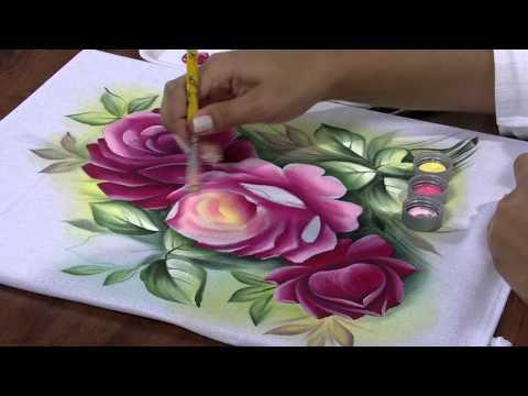Mulher.com 25/04/2013 Ana Laura Rodrigues - Pintura em tecido Parte 2