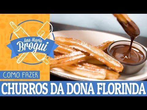 Receitas Doces - COMO FAZER CHURROS DA DONA FLORINDA (CHAVES)  Ana Maria Brogui #31