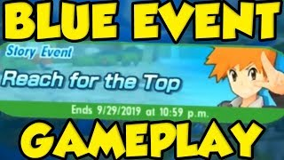 POKEMON MASTERS BLUE EVENT! FULL Pokemon Masters Blue Event Gameplay! by Verlisify