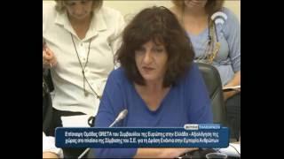 Tοποθέτησή μου στην Επιτροπή Ισότητας, Βουλή των Ελλήνων
