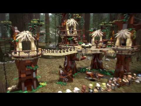 Конструктор Деревня эвоков - LEGO 10 Series - фото № 19