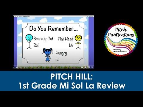 Pitch Hill: 1st Grade Mi Sol La Review